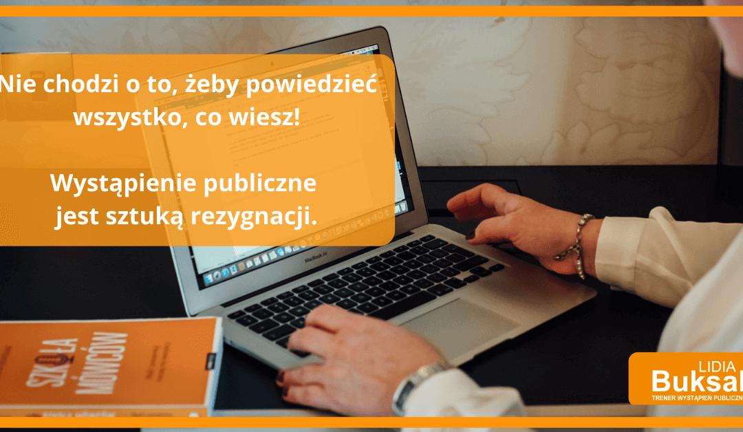 Blog wystąpienia Publiczne
