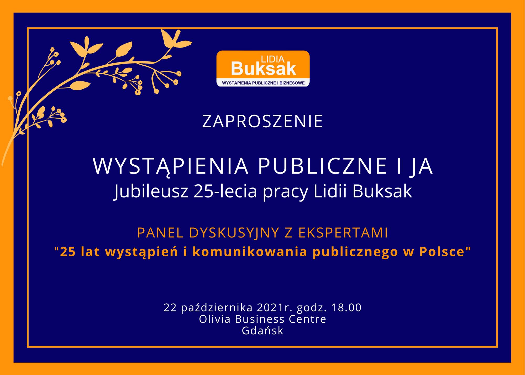 25 lat wystąpień i komunikowania publicznego w Polsce